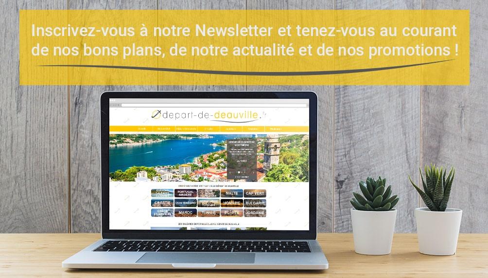 Bannière Inscription Newsletter